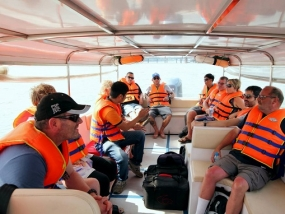 CU CHI TUNNELS TOUR GO BOAT-  BACK BUS 1 DAY